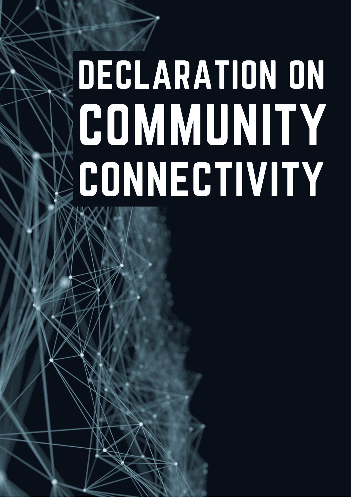 Declaration on community connectivity | Dynamic Coalition on Community Connectivity
